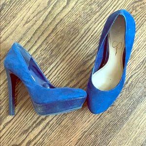 Jessica Simpson size 6 heels. Worn twice.